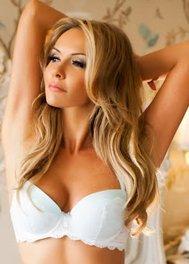Blonde escort girl